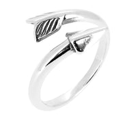 arrow Silver ring for girls