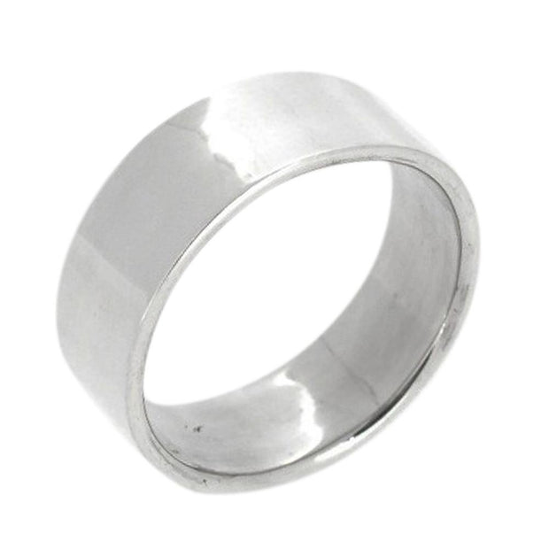 Classic Silver Band Ring For Women and Men