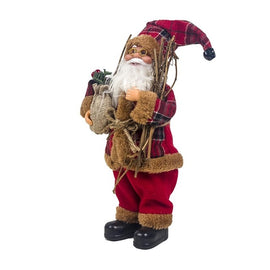 Decor New-Year Goods Santa Claus Christmas Doll Home Decoration Merry Christmas Kids Gift Fabric Toys Xmas Table Decor Ornament