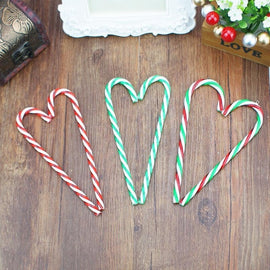 Christmas decorations plastic candy cane Christmas colorful bigger crutches Christmas gift 2020 new year Christmas Pendant good