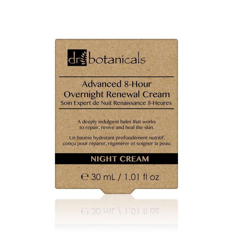 Advanced 8-Hour Overnight Renewal Cream - Dr. Botanicals Skincare