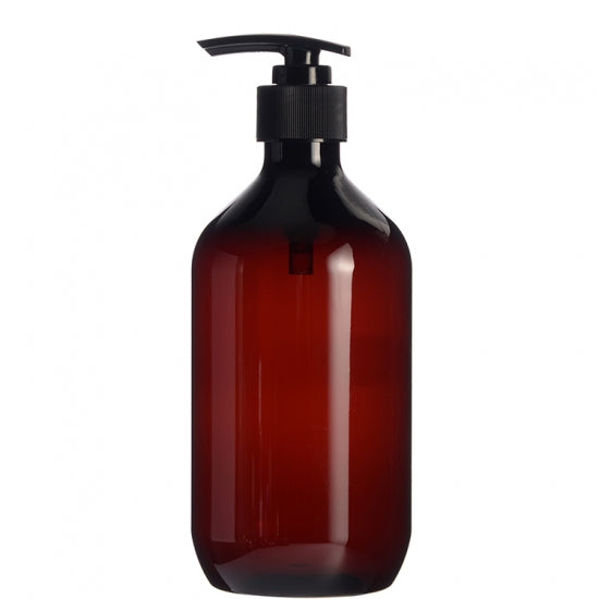 500ML Amber Bottle with T Pump
