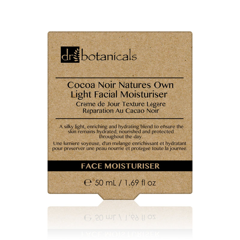 Coco Noir Nature's Own Light Facial Moisturiser 50ml - Dr. Botanicals Skincare