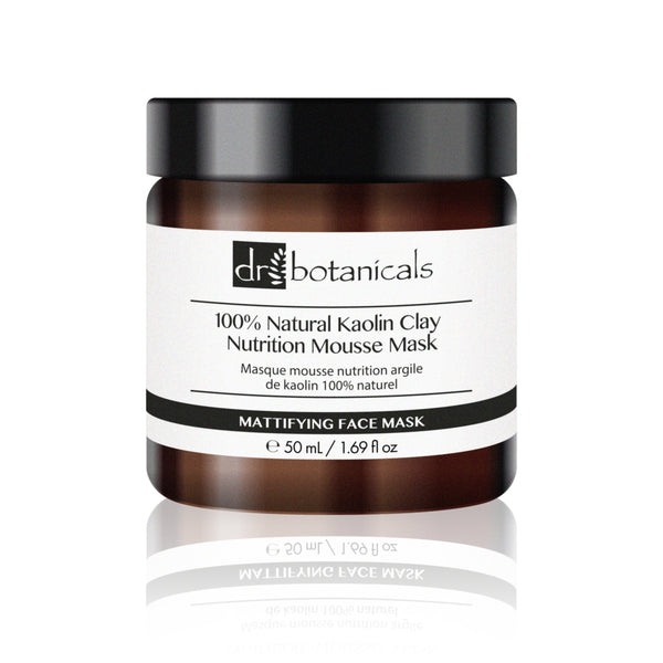 100% Natural Kaolin Clay Nutrition Mousse Mask - Dr. Botanicals Skincare