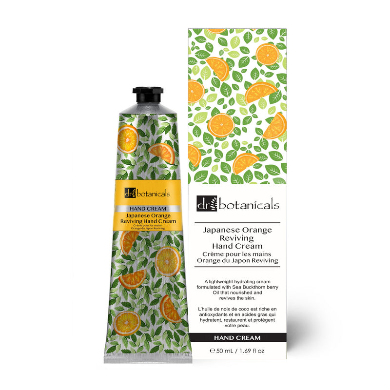 Japanese Orange  Reviving Hand Cream 50ml - Dr. Botanicals Skincare