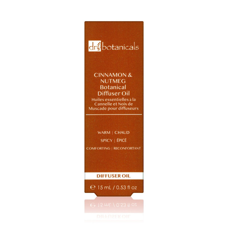 Cinnamon and Nutmeg Diffuser Oil - Dr. Botanicals Skincare
