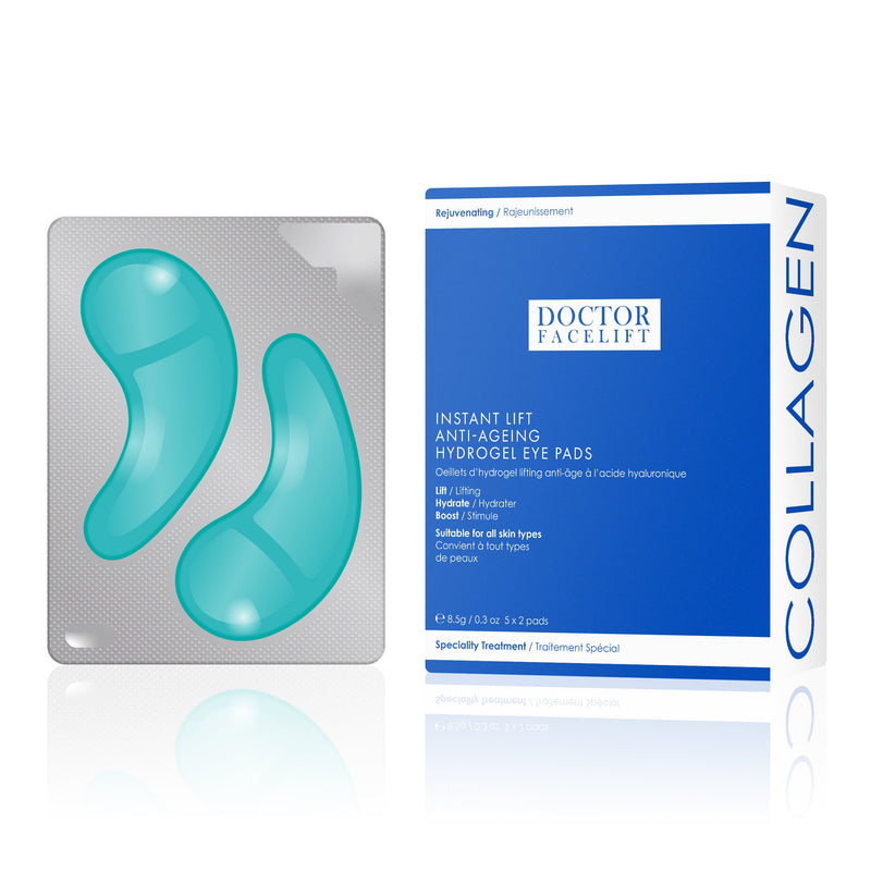 Doctor Facelift Instant Lift Anti-Ageing Hydrogel Eye Pads - Skin Chemists