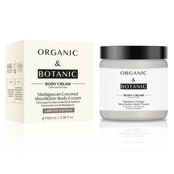 Limited Edition Madagascan Coconut Shea Butter Body Cream - Dr. Botanicals Skincare
