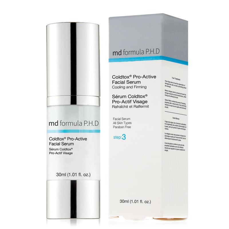MD Coldtox Pro-Active Facial Serum 30ml - Skin Chemists