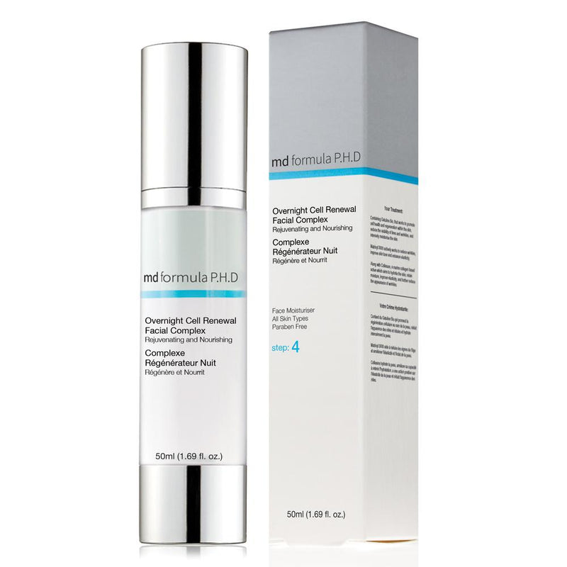 MD Overnight Cell Renewal Facial Complex 50ml - Skin Chemists