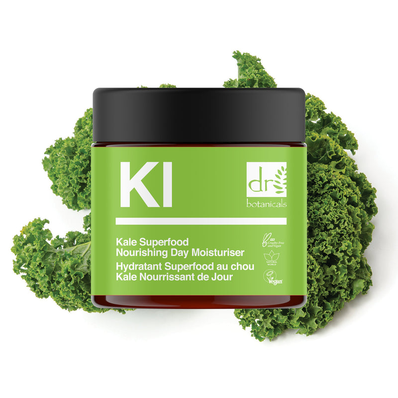 Kale Superfood Nourishing Day Moisturiser - Dr. Botanicals Skincare