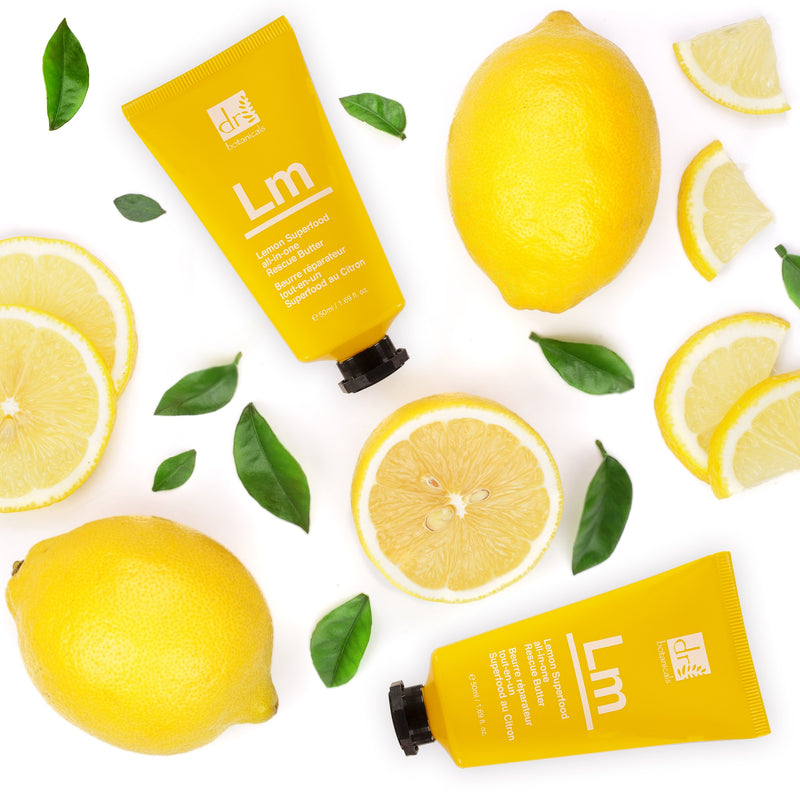 Lemon Superfood all-in-one Rescue Butter - Dr. Botanicals Skincare