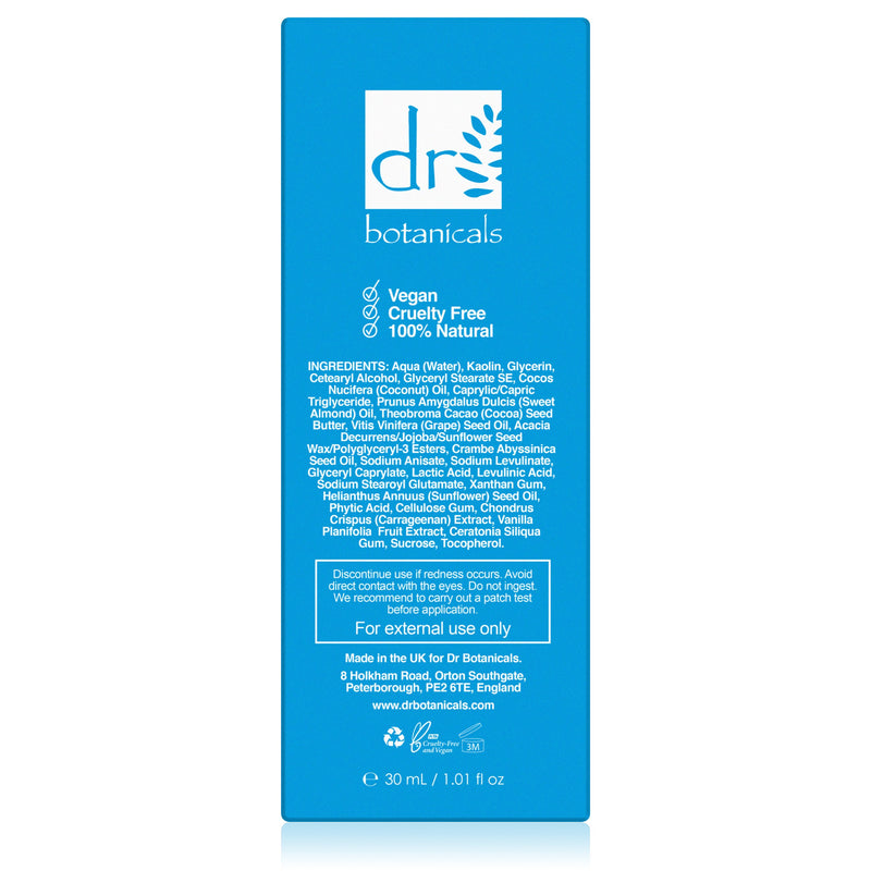 Cocoa & Coconut Superfood Reviving Hydrating Mask 30ml - Dr. Botanicals Skincare