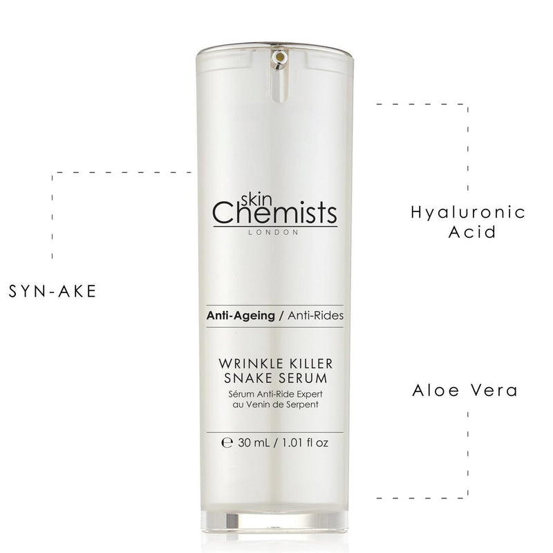 Wrinkle Killer Snake Serum 30ml - Skin Chemists