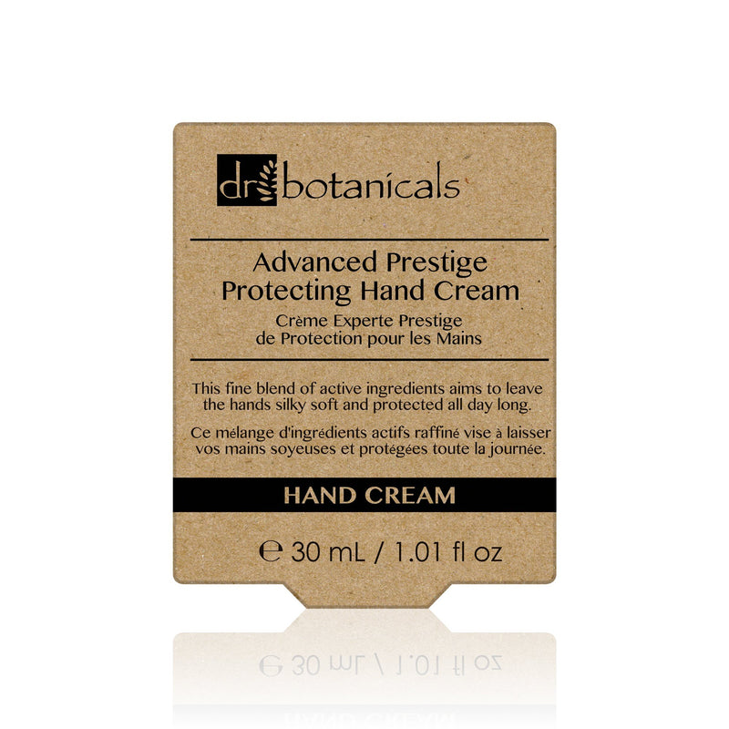 Advanced Prestige Protecting Hand Cream 30ml - Dr. Botanicals Skincare