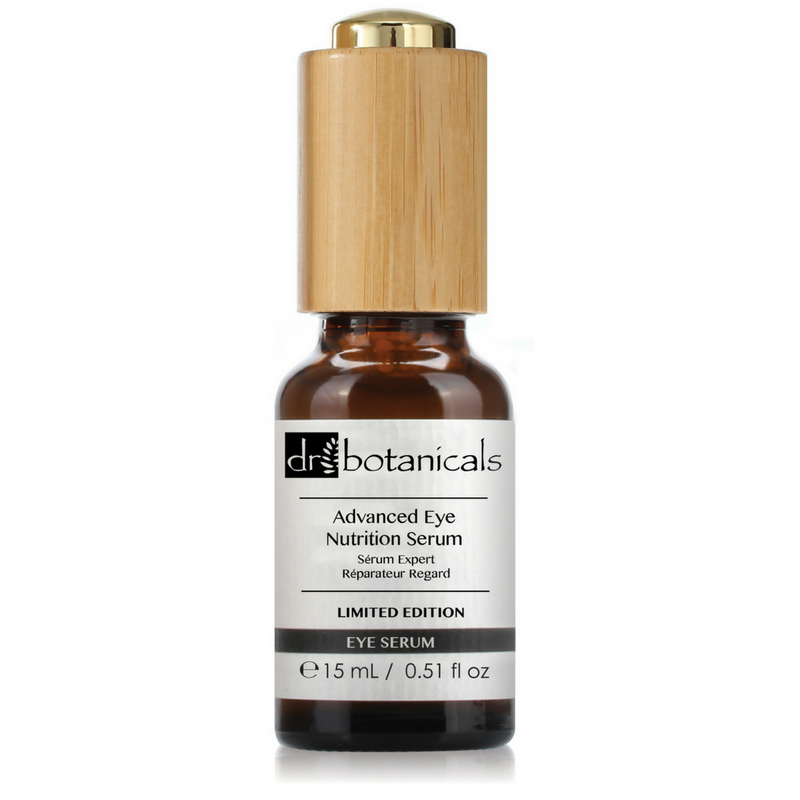 Advanced Light Eye Serum Essence - Limited Edition with Wooden Box - Dr. Botanicals Skincare