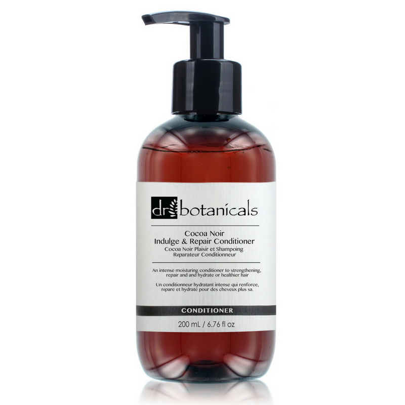 Cocoa Noir Indulge and Repair Hair Conditioner - Dr. Botanicals Skincare