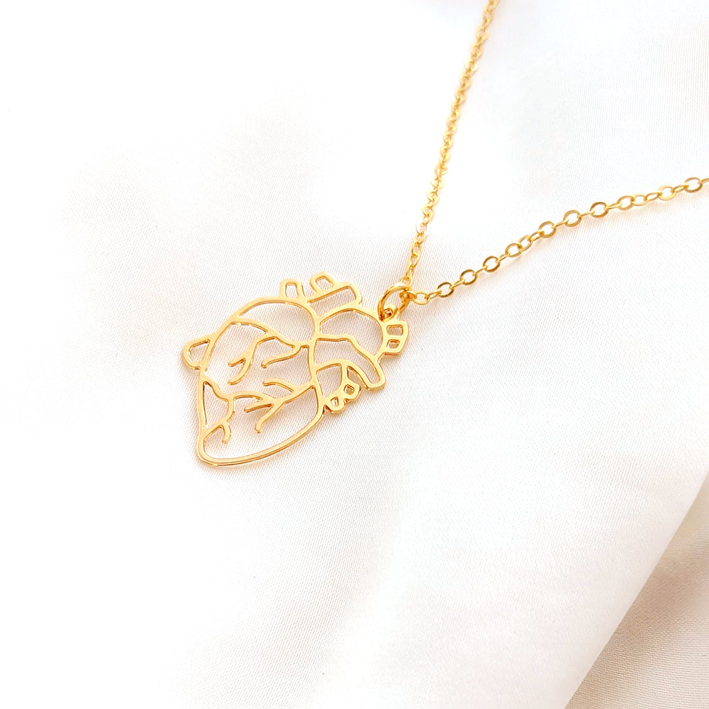 Heart necklace Gold / Silver