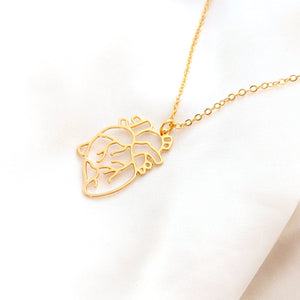 Heart necklace Gold / Silver - Shany Design Studio Jewellery Shop