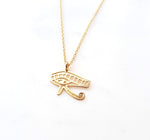 Eye of Horus Necklace Gold / Silver