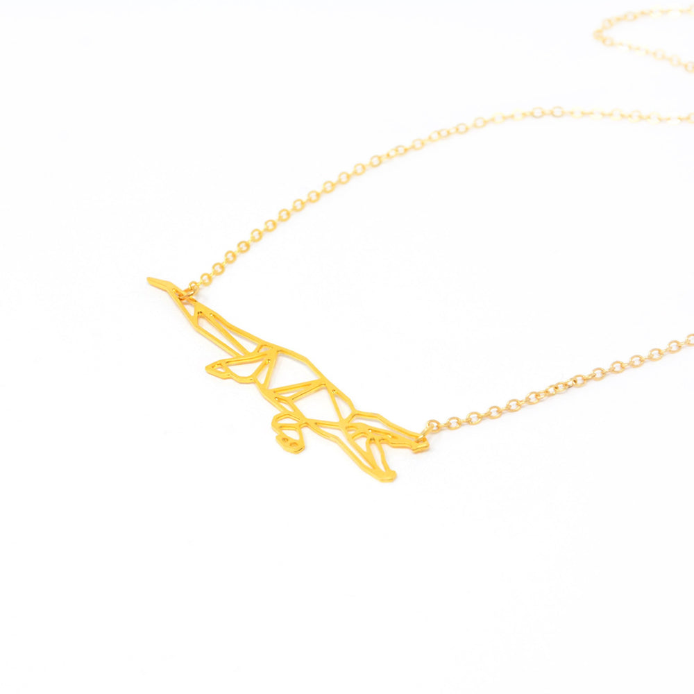 Load image into Gallery viewer, Crocodile Alligator Necklace Gold / Silver - Shany Design Studio Jewellery Shop