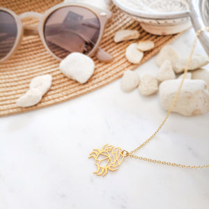 Crab origami necklace Gold / Silver - Shany Design Studio Jewellery Shop