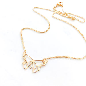 Butterfly Necklace Gold / Silver