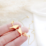 Love Birds Necklace Gold / Silver