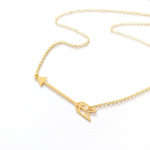Arrow Boho Necklace Gold / Silver - Shany Design Studio Jewellery Shop