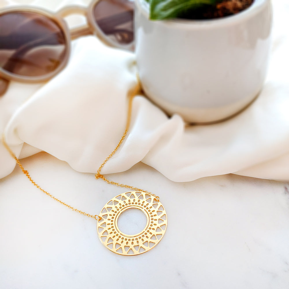 Circle of life necklace - Shany Design Studio Jewellery Shop