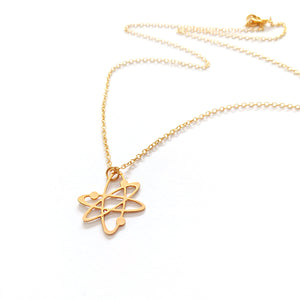 Atom Necklace Gold / Silver - Shany Design Studio Jewellery Shop