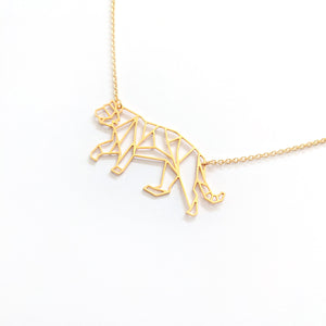 Tiger Necklace Gold / Silver - Shany Design Studio Jewellery Shop