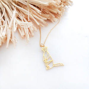 Meerkat Necklace Gold / Silver - Shany Design Studio Jewellery Shop