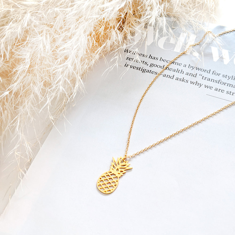 Pineapple Necklace Gold / Silver