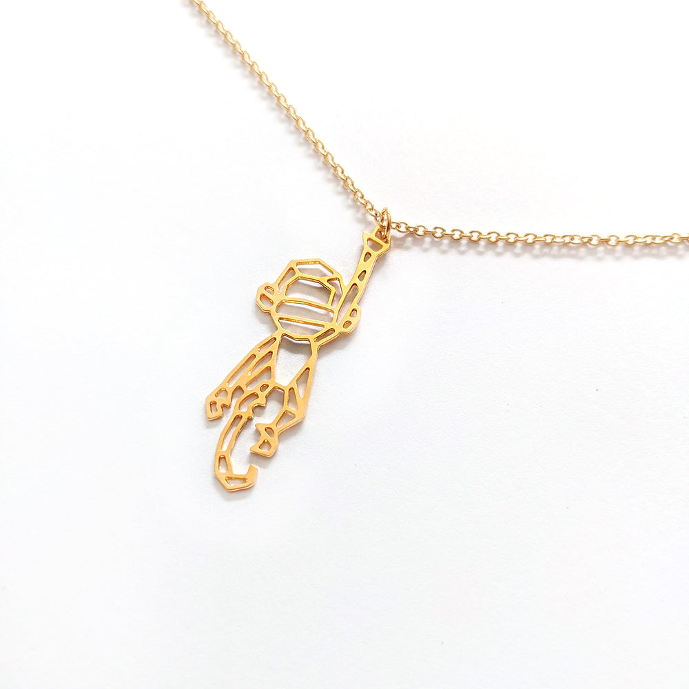 Monkey Necklace Gold / Silver - Shany Design Studio Jewellery Shop