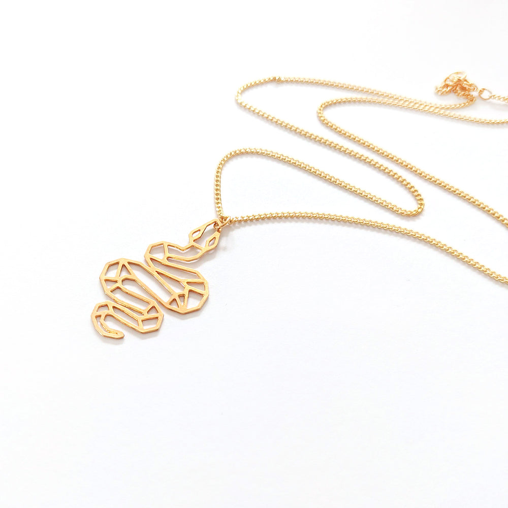 Snake Necklace Gold / Silver - Shany Design Studio Jewellery Shop