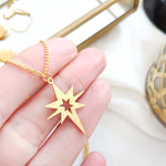 Star Necklace Gold / Silver