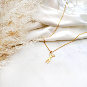 Small Scissors Necklace Gold / Silver - Shany Design Studio Jewellery Shop