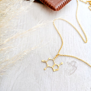 Chocolate Molecule Necklace Gold / Silver - Shany Design Studio Jewellery Shop
