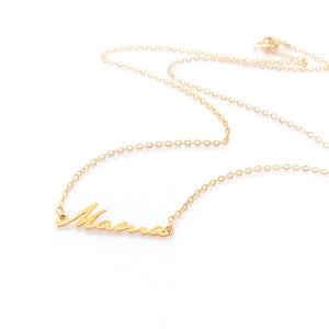 Load image into Gallery viewer, Mama Necklace Gold / Silver - Shany Design Studio Jewellery Shop