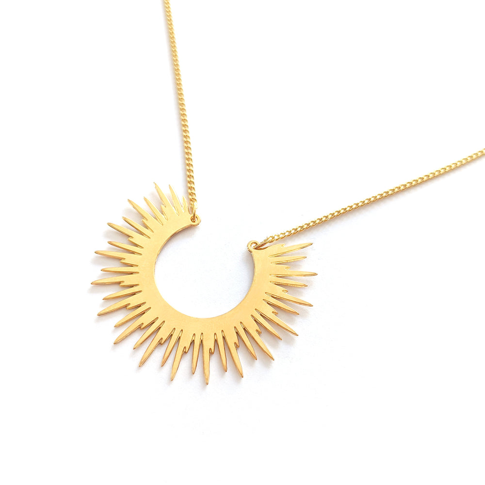 Sun Necklaces Gold / Silver - Shany Design Studio Jewellery Shop