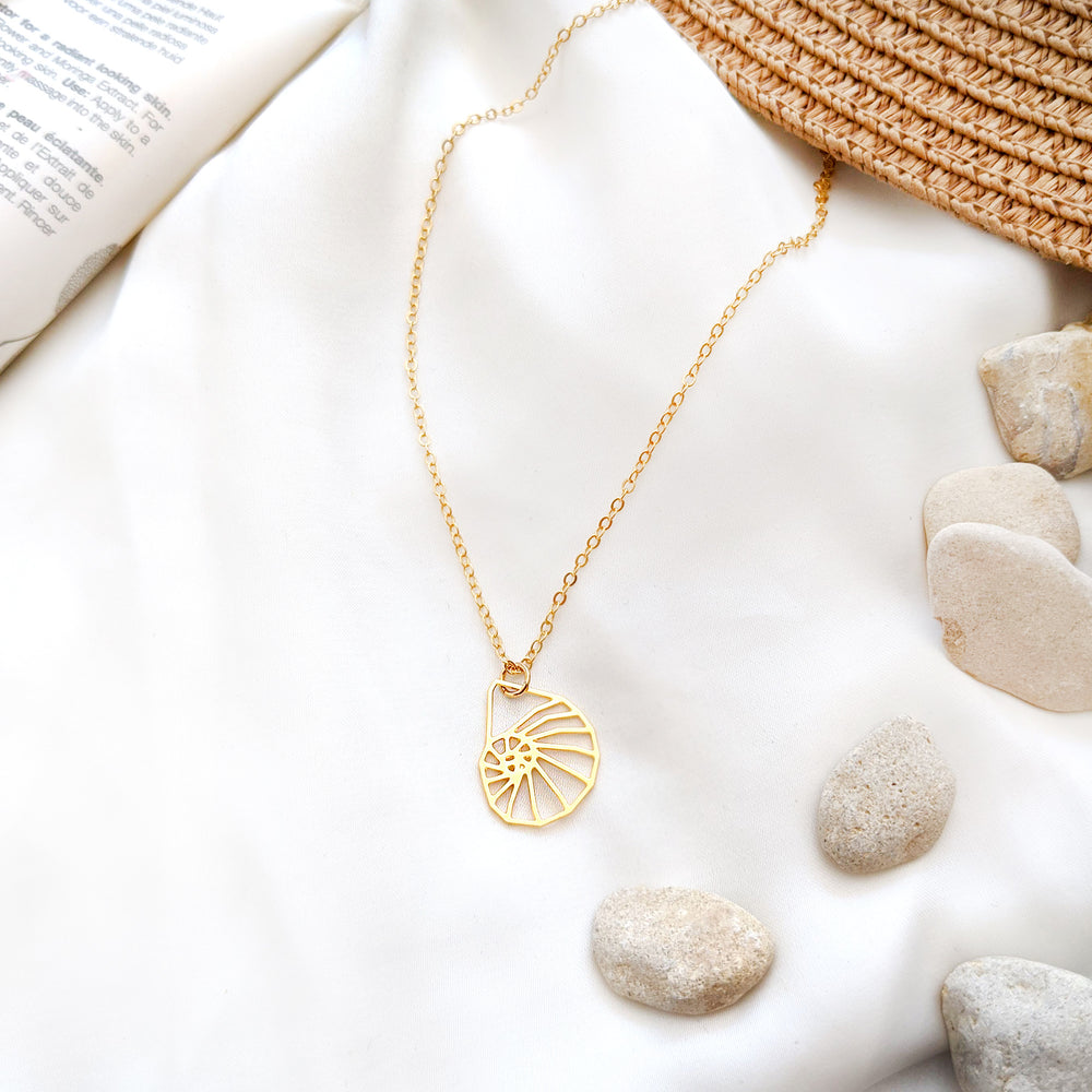 Seashell Necklace Gold / Silver - Shany Design Studio Jewellery Shop