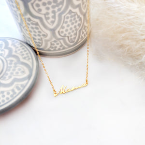Mama Necklace Gold / Silver - Shany Design Studio Jewellery Shop