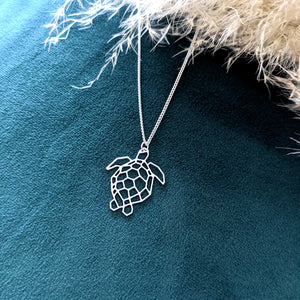 Turtle Necklace Gold / Silver