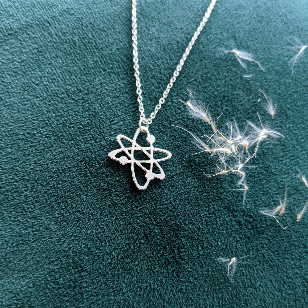 Atom Necklace Gold / Silver