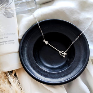 Arrow Boho Necklace Gold / Silver