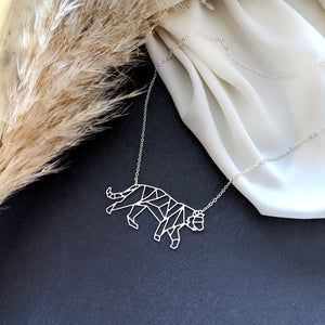 Tiger Necklace Gold / Silver
