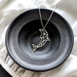 Dolphin Necklace Gold / Silver