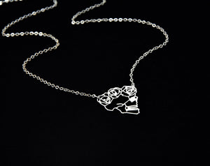 Load image into Gallery viewer, Skull Necklace Gold / Silver - Shany Design Studio Jewellery Shop