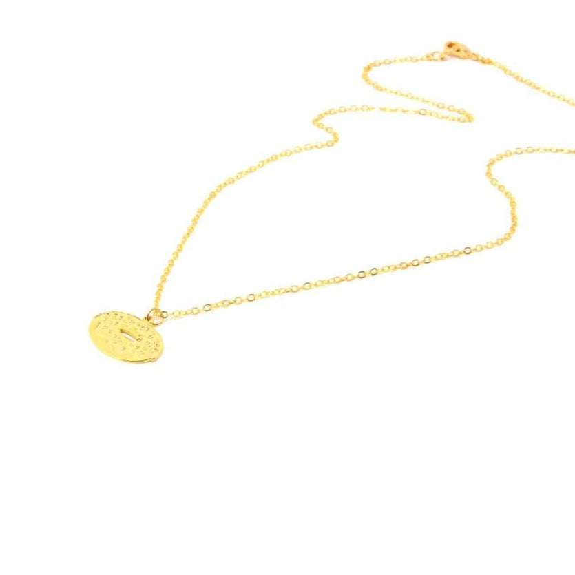 Doughnut Necklace Gold / Silver - Shany Design Studio Jewellery Shop